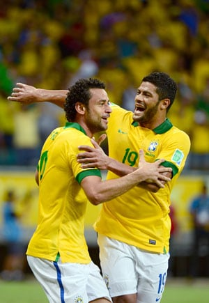 Confederations Cup: Inspired Brazil see off Italy to top Group A