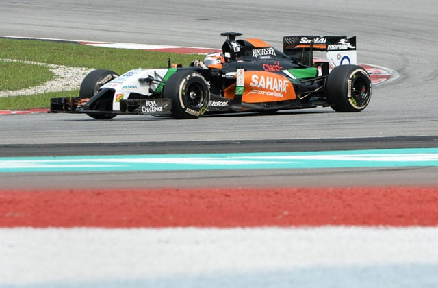 Malaysian Grand Prix: Force India's Nico Hulkenberg finishes strong fifth