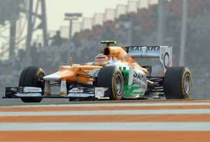 Sahara Force India happy with Hulkenberg's four points