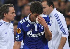 Dutch striker Klaas-Jan Huntelaar likely out until January