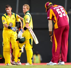Australia coast to victory in first T20