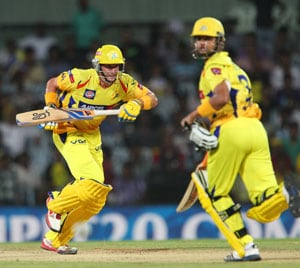 Champions League T20: Chennai Super Kings cruise to win over Titans at MS Dhoni's home
