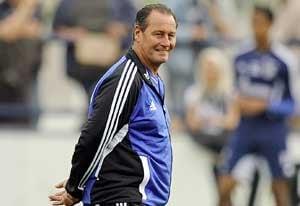 Stevens appointed new Schalke coach