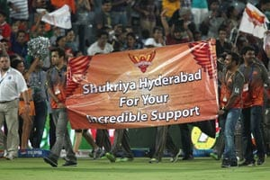 IPL 2013: Jubilant Sunrisers Hyderabad sing, Time of My Life!
