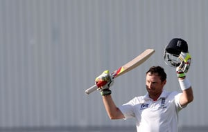 Ian Bell, Jonathan Trott fifties lift England on Day 2 in tour match