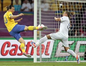 Euro 2012: France advance despite 2-0 defeat to Sweden