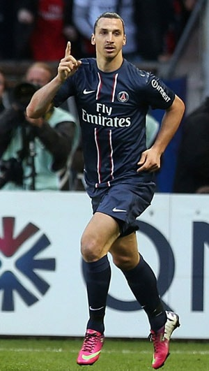 Zlatan Ibrahimovic steers Paris Saint-Germain to five-goal triumph