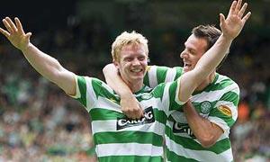 Celtic fined for fans' banner firework party
