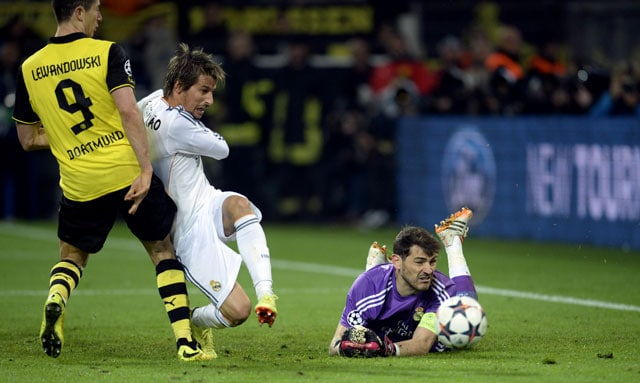 Borussia Dortmund defeat's a real wake-up call for us, says Real Madrid captain Iker Casillas