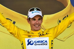 Tour de France: Daryl Impey becomes first African to win yellow jersey