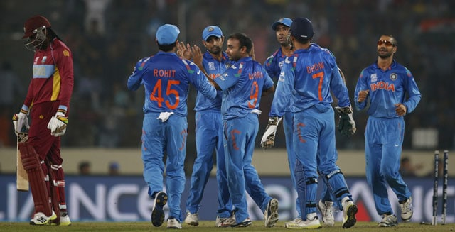 India vs West Indies: Live cricket Score