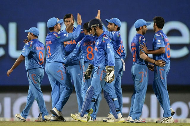 ICC World Twenty20: We had self-belief to chase the target, says Mahendra Singh Dhoni