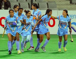 Indian eves thrash Hong Kong 13-0 in Asia Cup hockey