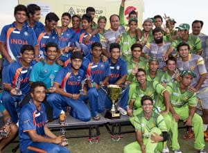India-Pakistan Under-19 Asia Cup final ends in thrilling tie
