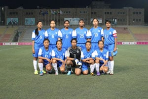 Myanmar beat India 2-0 in AFC Women's Asian Cup qualifiers