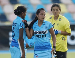 Indian Junior Women's Hockey Team Goes Down 5-0 to New Zealand