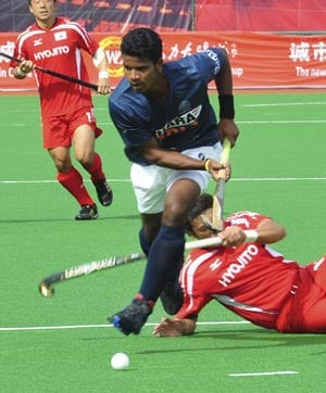 India punish South Korea 5-3