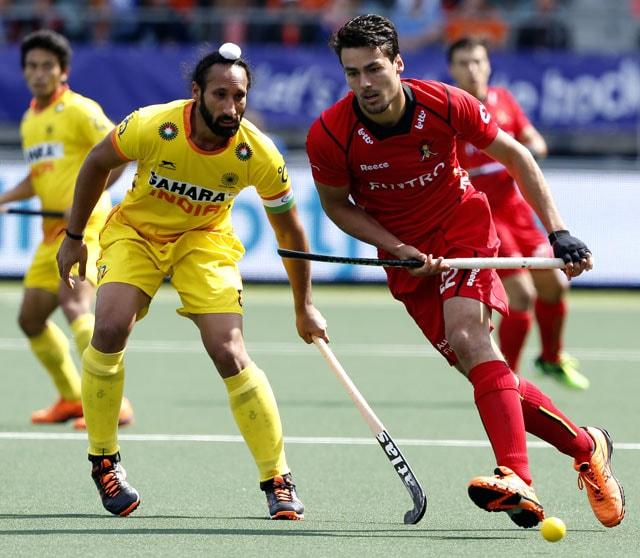Hockey World Cup: Mandeep Singh, Akashdeep Singh Score in Vain as India Concede Last-Minute Winner to Belgium