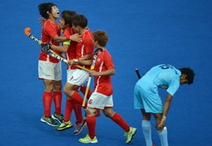 London 2012 Hockey: India crushed 1-4 by South Korea
