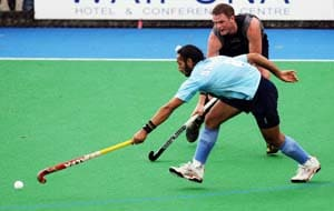 Can't serve goals on a platter, says hockey coach