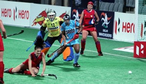 Indian eves pip Russia 1-0 to qualify for Hockey World League Round 3