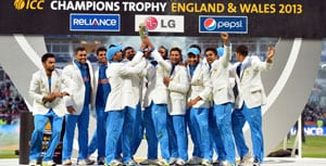 ICC Champions Trophy: Indian players take to twitter to thank fans for support