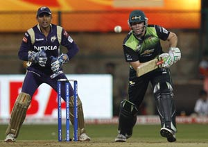 Kolkata fight to win rain-hit match against Warriors