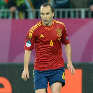Spain's Andres Iniesta excited by 2014 FIFA World Cup draw