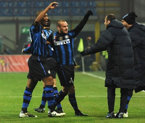 Inter Milan hope to improve in Champions League
