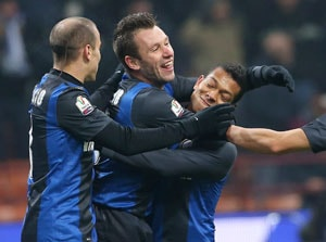Inter advances to Italian Cup quarterfinals