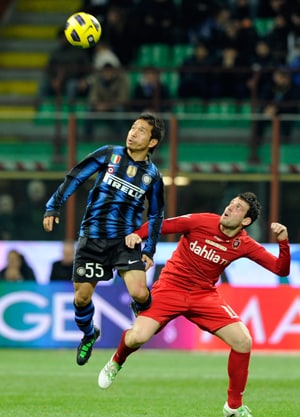 Inter title charge rolls on over Cagliari