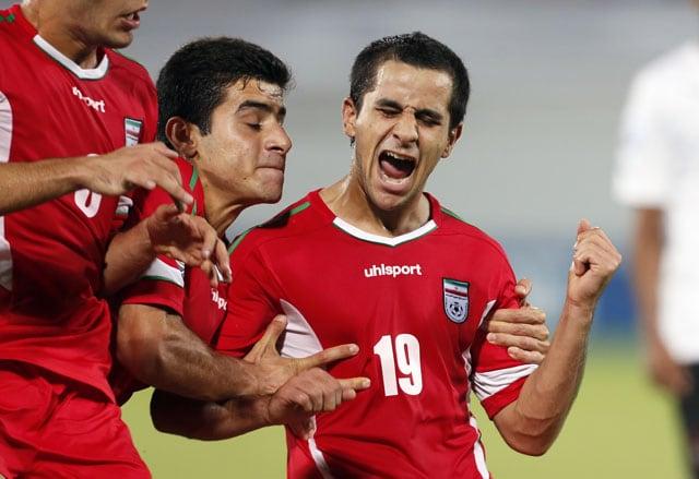 Iran Players Bemoan Shrinking FIFA World Cup Socks