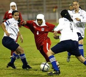 Asia urges football lawmakers to lift hijab ban