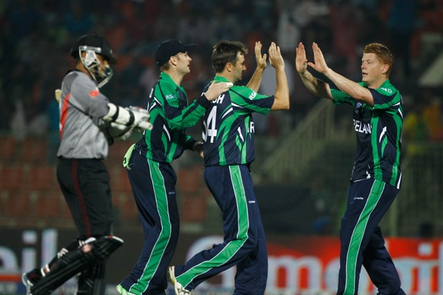 Twenty20 World Cup: Ireland inch closer to main draw after win over United Arab Emirates in rain-marred tie