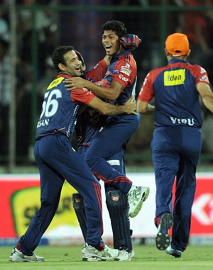 IPL 5: Rajasthan vs Delhi statistical highlights