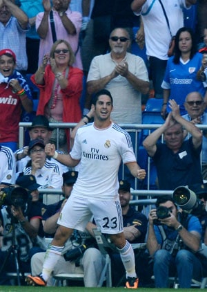 La Liga: Isco double maintains perfect start for Real Madrid