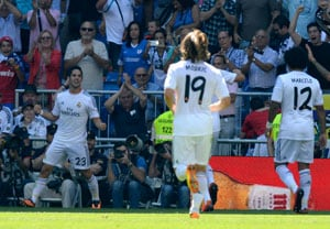 La Liga round-up: Real Madrid wins before Gareth Bale joins, Lionel Messi scores 3
