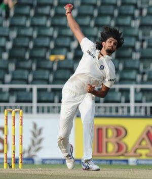 Ishant Sharma records his best bowling figures against South Africa in South Africa