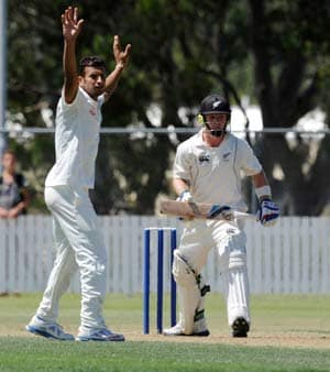 India find form against New Zealand XI as Ishwar Pandey claims three