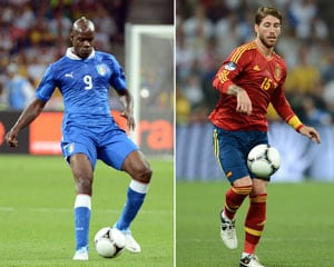 Euro 2012: Spain and Italy paths to final