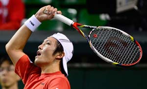 Ito the hero as Japan beat South Korea in Davis Cup