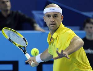 Ljubicic says goodbye with first-round exit