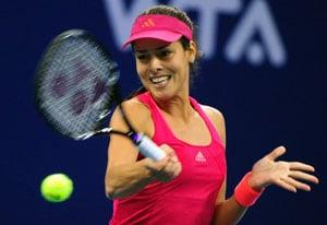 Ivanovic dumps Zvonareva out of Beijing