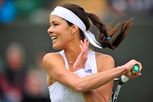 Ana Ivanovic advances to 2nd round at Wimbledon