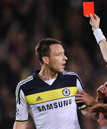 John Terry gets four-match ban for Ferdinand abuse