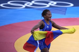 London 2012: Poverty led Colombian medallist to wrestling