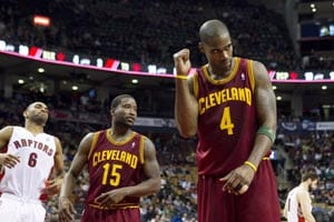 Jamison scores 25 points as Cavaliers beat Raptors
