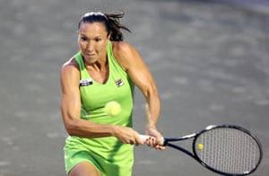 Jelena Jankovic advances to 2nd round in Copenhagen