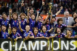 Japan to honour it's women football stars