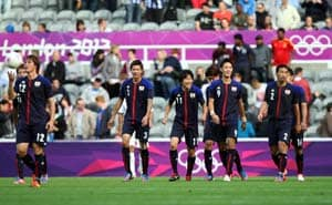 London 2012 Football: Japan advances to quarters with 1-0 over Morocco